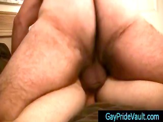 fat bear humping his petite little gay ally by