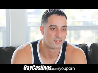 gaycastings uncut guido takes cock for st time