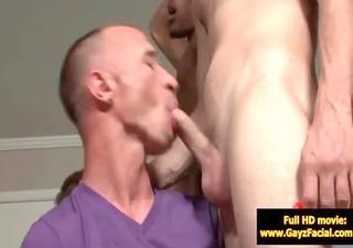 bukkake gay chaps - wicked bareback facial goo