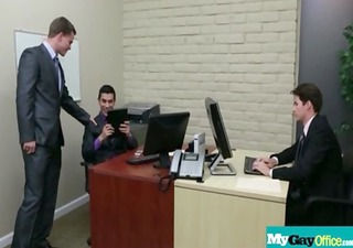 muscled gay boys fucked by horny guys in office 51