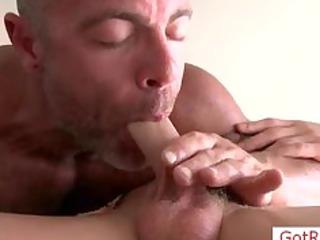 blondie getting his cock sucked part9