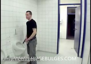 bulge public toilet