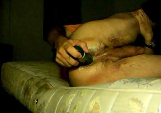 dilettante anal cucumber deep insertion