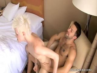 timo garett gets screwed hard by his dad preson
