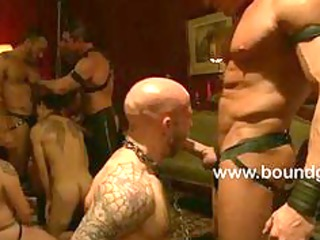 group sex slavery gay party