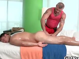 amazing hunks in hot homo massage part11