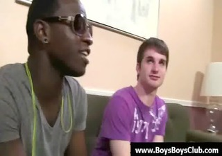 big muscled black gay lads humiliate white twinks