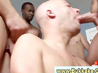 bukkake loving dilettante homo