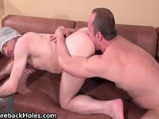 hardcore homosexual bareback fucking and jock