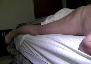 lets see, cum, pantyhose, heels, more cum.