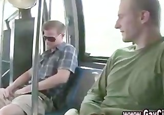 sexually excited str lad on public bus