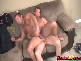 shaggy straight lad acquires his ass fucked homo
