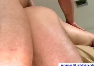 face down during the time that is masseuse fucks