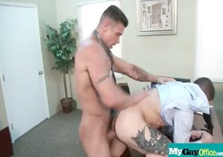 naughty homosexual chaps drilled hard in the ass