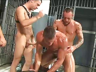 homo prison fuckfest