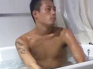 jeremy lin look a like in lascivious gay washroom