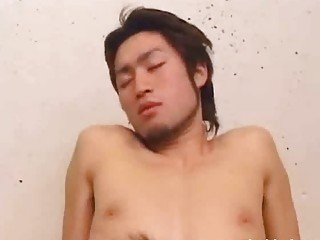 japanese homo doing a back to back