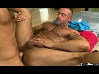 mr slick in homosexual anal hardcore after massage