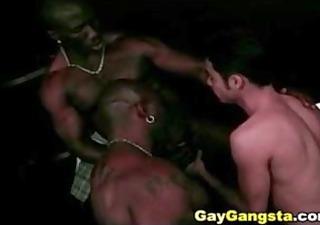 interracial gay thug hardcore group-sex
