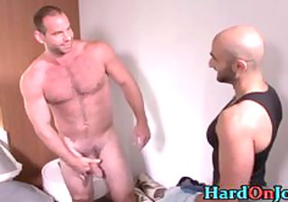 hairy hunk receives his bushy ass screwed part42
