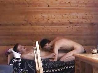 mature homo chap and youthful boi fucking on