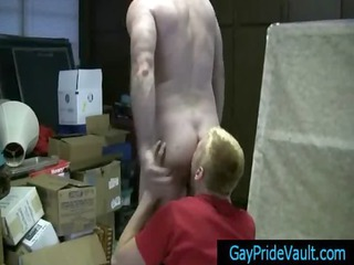 blond cute twink sucks bushy cock homosexuals