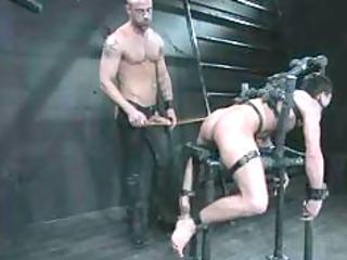 brawny cheeky robust homosexual smashing gazoo in
