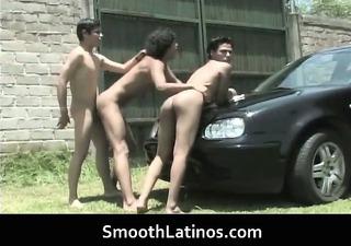 super sexy homo latino lads having homosexual sex