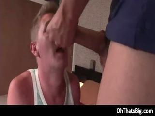 blonde stud acquires huge jock up the pooper