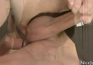 sexy shlong getting his hirsute butt fucked part11